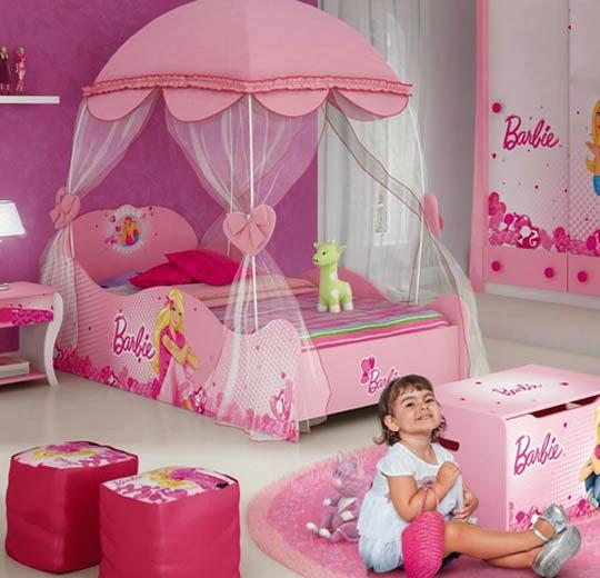 decoração-com-cama-barbie