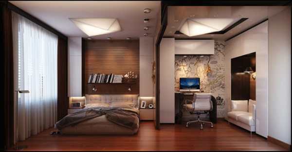 Contemporary, Comfy And Functional Interior Design For Your Bedroom ,Home Interior  Design Ideas ,