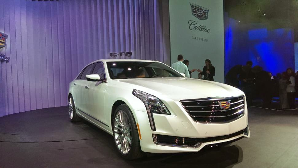 New 2016 Cadillac CT6 Sets The Stage