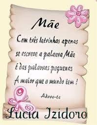 Mães, Parabéns Pelo seu Dia!!!