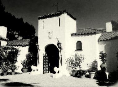 Old Hollywood Mansions my love of old hollywood: hollywood at home: rudolph valentino's
