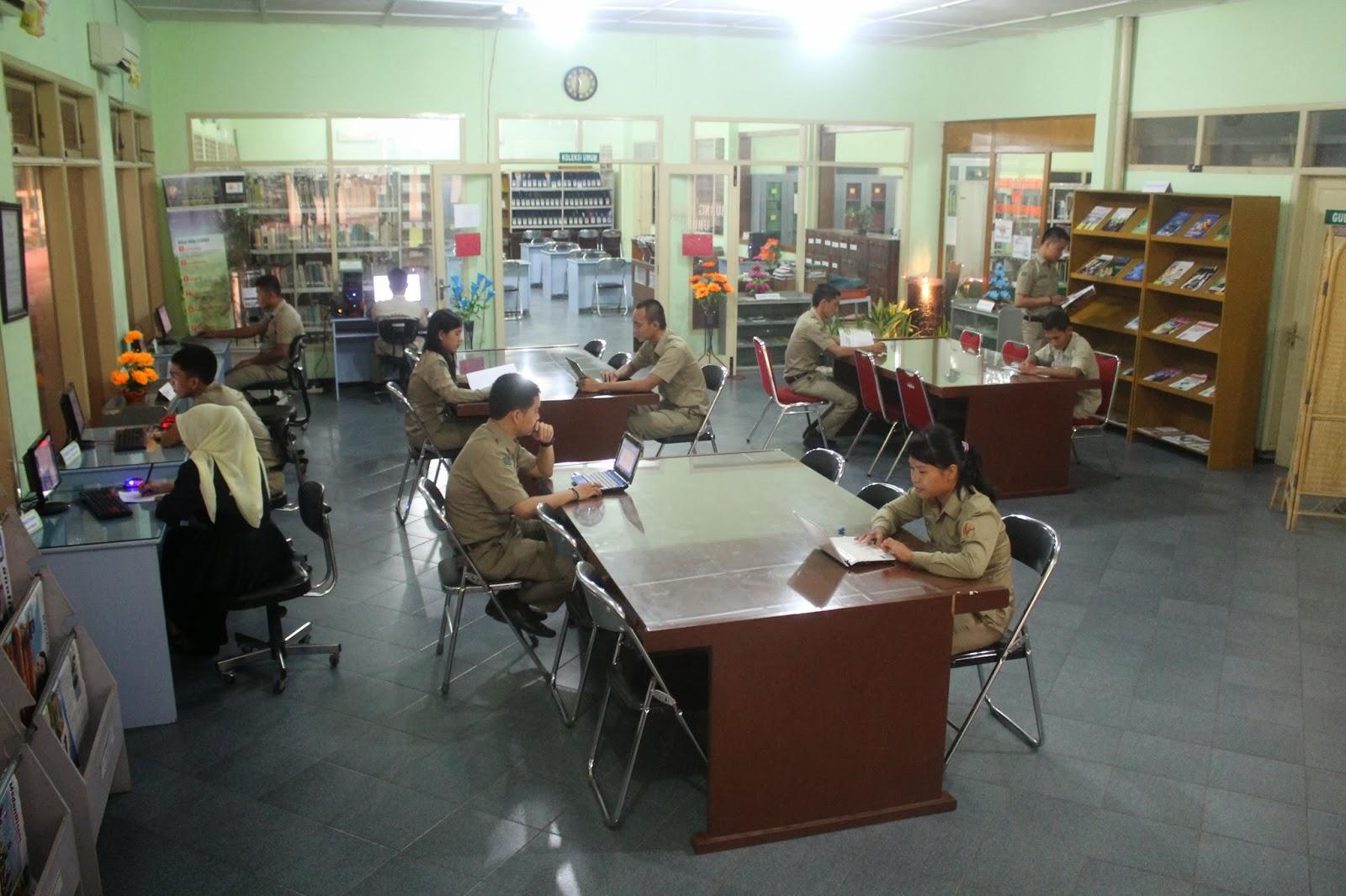 Ruang Baca Perpustakaan