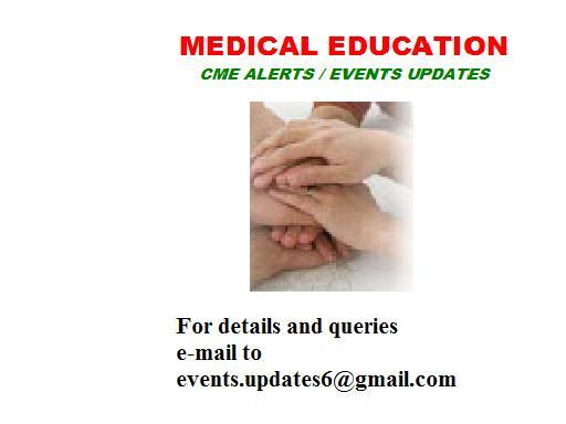 CME EVENTS UPDATES