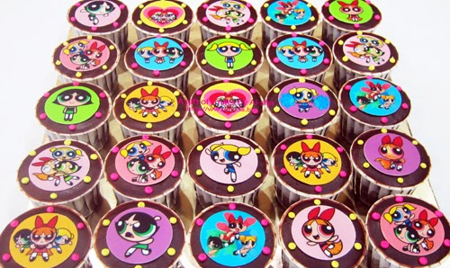 Power Puff Girls CupCake