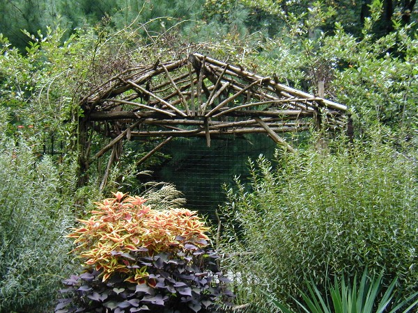Two Men and a Little Farm INSPIRATION THURSDAY RUSTIC ARBOR