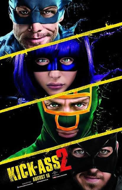 Filme Poster Kick-Ass 2 HDRip XviD & RMVB Legendado