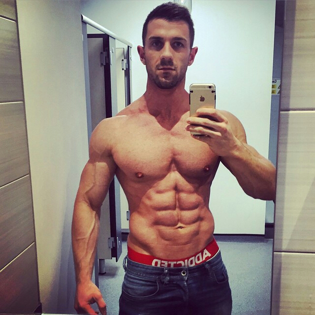 instagram fitness models male