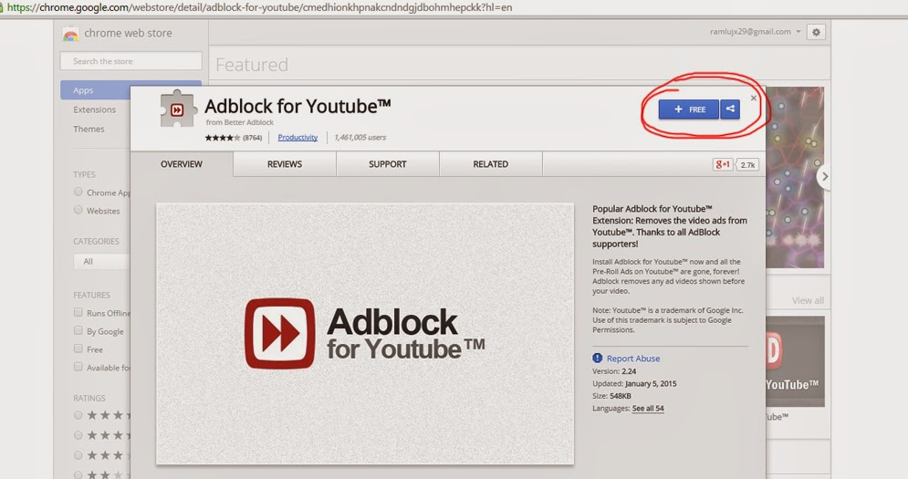 How to block youtube ads the simplest way alternative pc solutions afterwhich viola you can now experience youtube without ads to note this add on is one of the popular adblock in chrome there still more around there ccuart Images