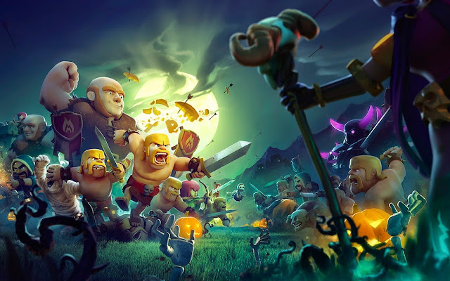 14144-Fabulous Clash Of Clans HD Wallpaperz