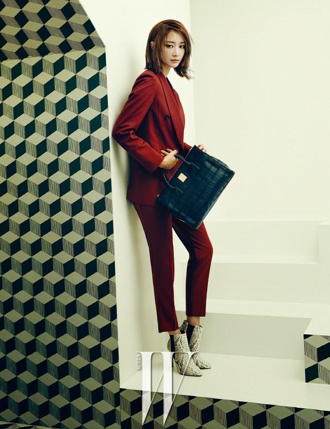 Go Joon Hee - W Magazine December Issue 2014