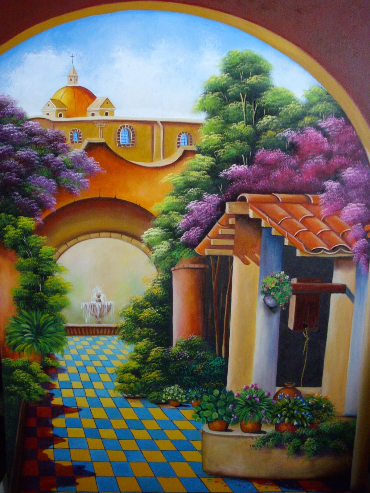 Pintura moderna y fotograf a art stica cuadros de arte - Como hacer cuadros faciles en casa ...
