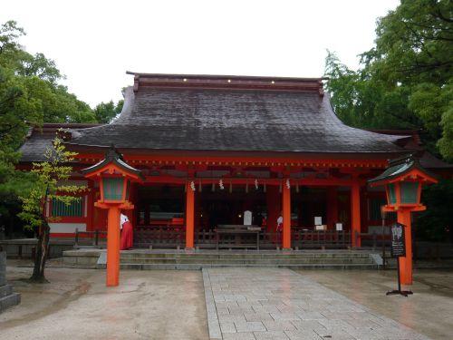 住吉神社(福岡市)拝殿