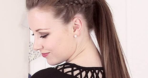 Mohawk Quiff Ponytail Hair Tutorial Hairstyles Tutorial
