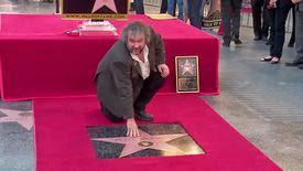 Peter Jackson reçoit son étoile sur l'Hollywood Walk of Fame