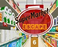 Juegos de Escape SuperMarket Escape 6