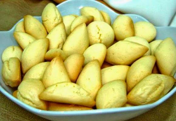 Biscoitos de milho light