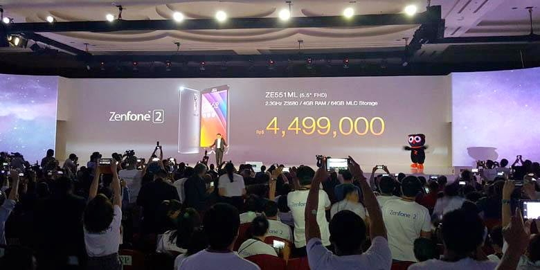 Peluncuran ASUS Zenfone 2 di Jakarta
