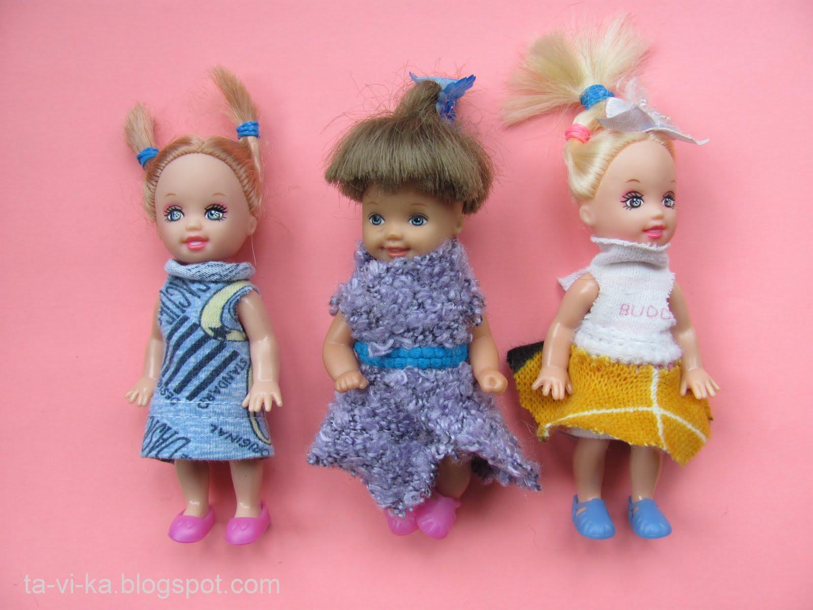 Как сшить кукол иголкой