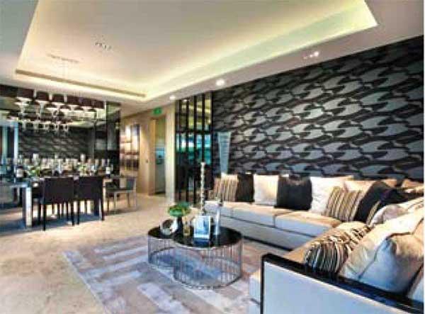 Skyline Residences Living Room