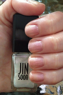 Jin Soon, Jin Soon nail polish, Jin Soon Gossamer Nail Polish, Jin Soon Voile Nail Polish, nail, nails, nail polish, polish, lacquer, nail lacquer, varnish, nail varnish, swatches, nail polish swatches, Jin Soon nail polish swatches, mani, manicure