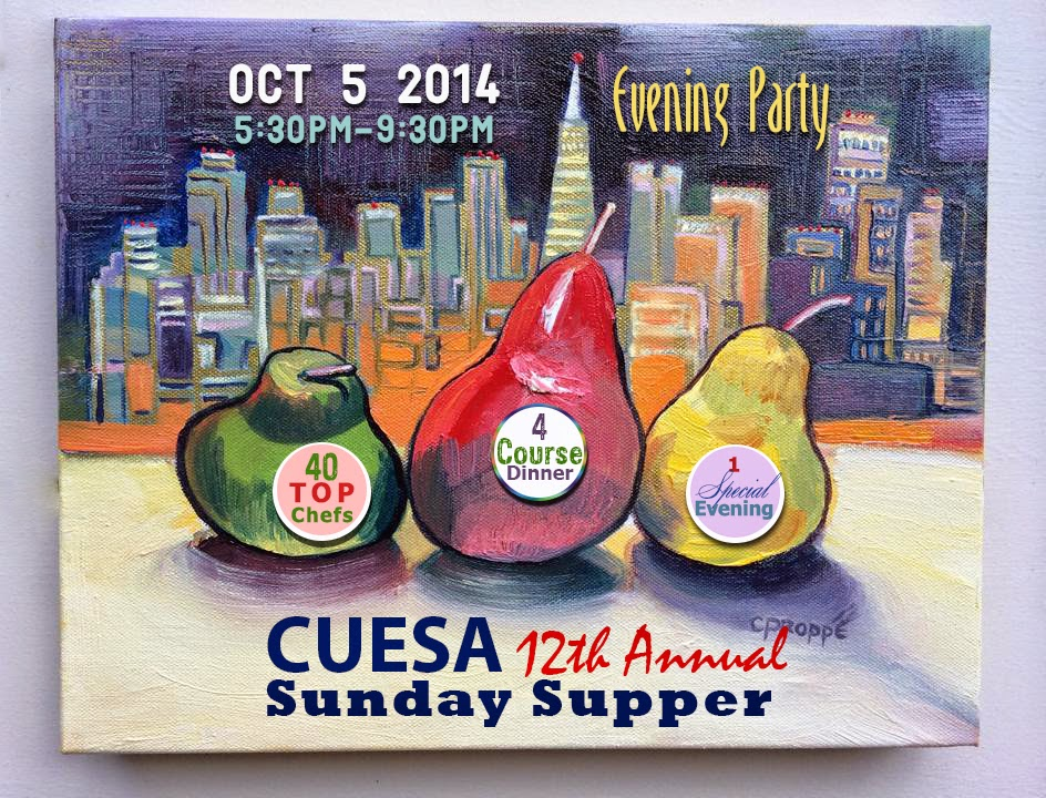 http://www.cuesa.org/event/cuesas-12th-annual-sunday-supper