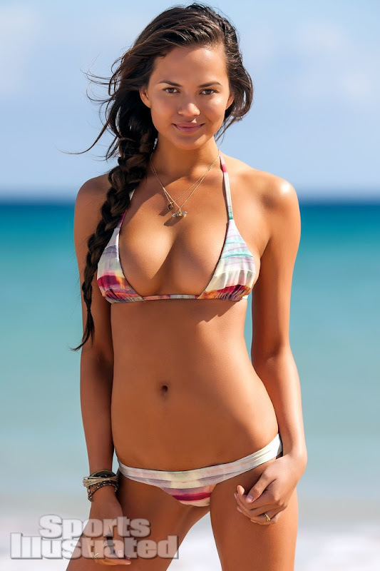 Christine Teigen in Bikini for Sports Illustrated 2013 Photoshoot