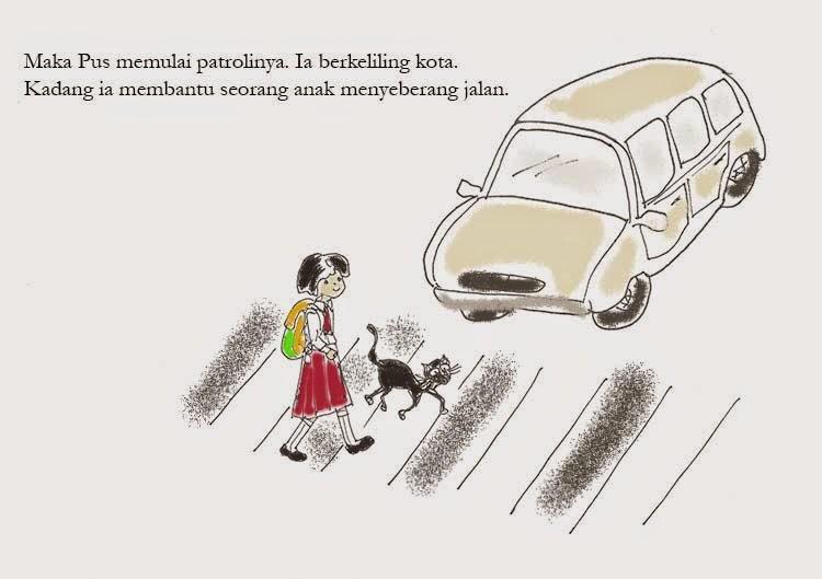 pictorial-story-mobil-zebra-cross-kartun