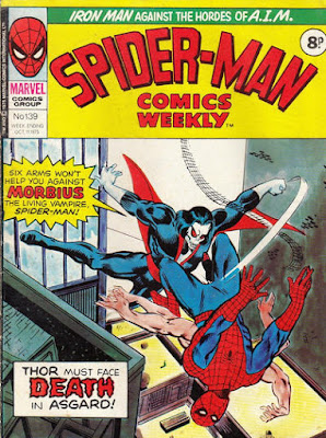 Spider-Man Comics Weekly #139, Morbius