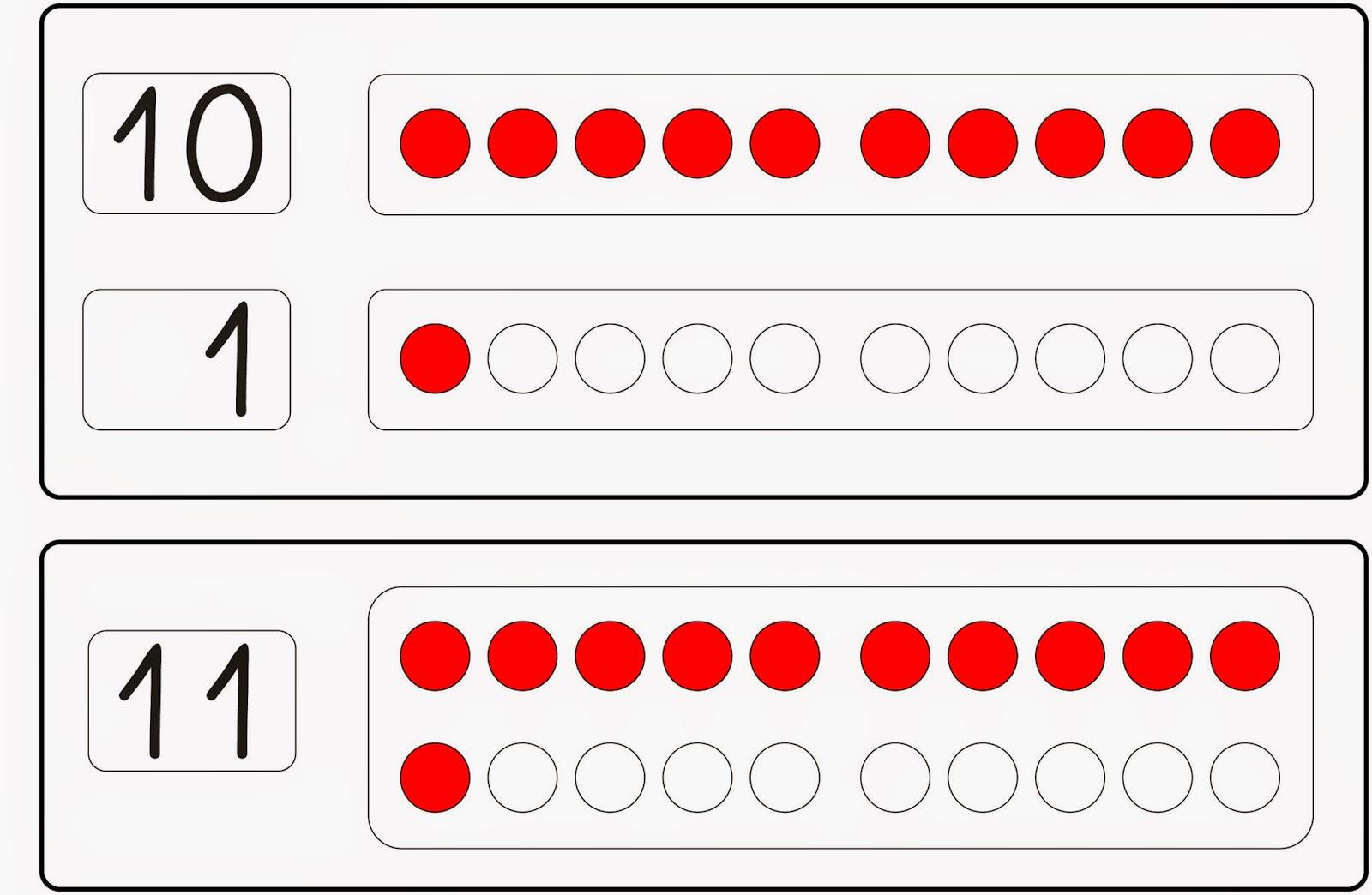 Lernstübchen: Zahlen bis 20 einführen