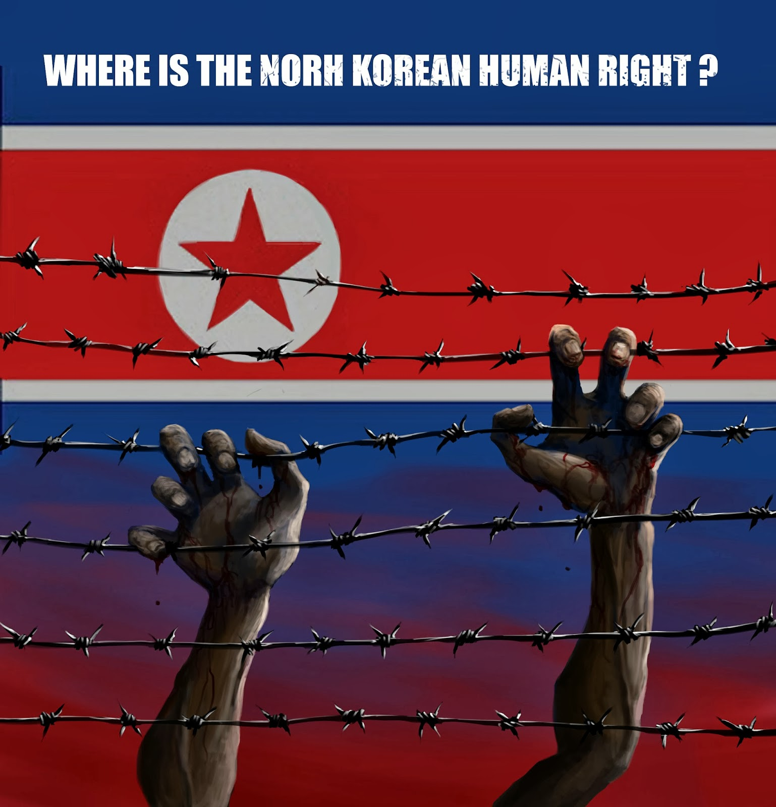 human rights in north korea According to reports from amnesty international and the us committee for human rights in north korea, by 2017 an estimated 200,000 prisoners are incarcerated in camps that are dedicated to political crimes, and subjected to forced labor, physical abuse, execution and human experimentation.