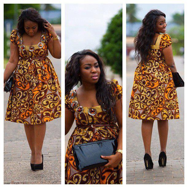 Ankara Creative Gown Style - DeZango Fashion Zone
