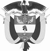 según la versión publicada en el sitio Colombia Ya . escudo colombia grande