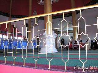 Lantai 2 Masjid Cheng Ho Pandaan