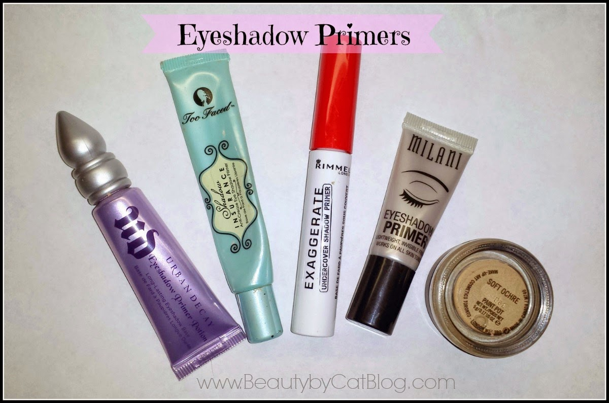 BeautybyCat Blog: Best and Worst Eyeshadow Primers