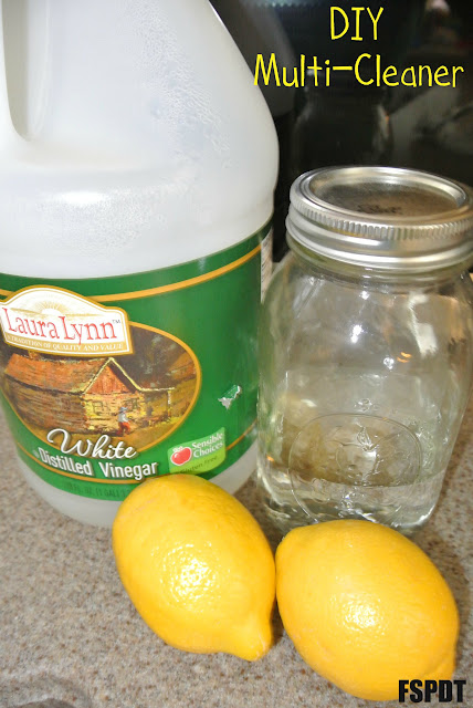 DIY multi purpose cleaner- lemon scent