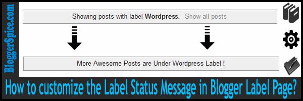 label message