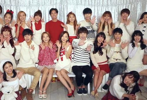 Kara, Rainbow, A-Jax, Oh Jong Hyuk