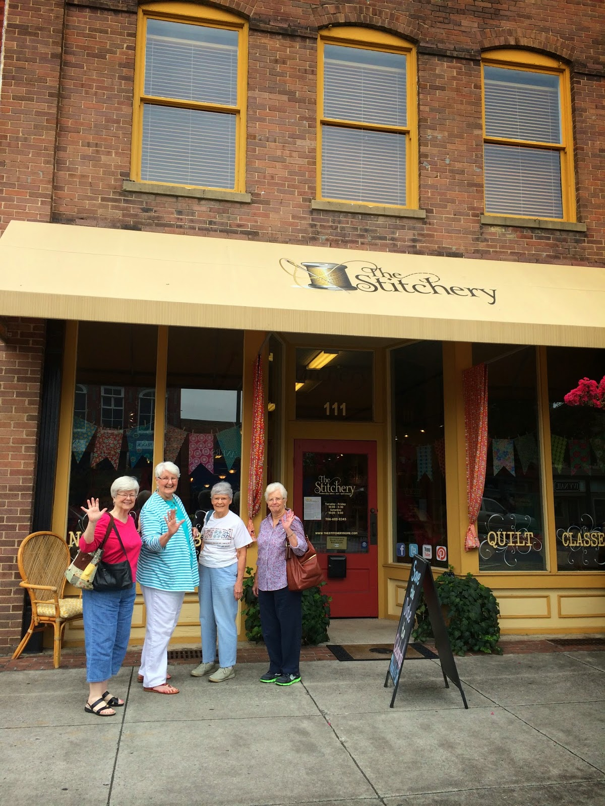 Butterfly Threads The Stitchery Quilt Shop In Rome Ga