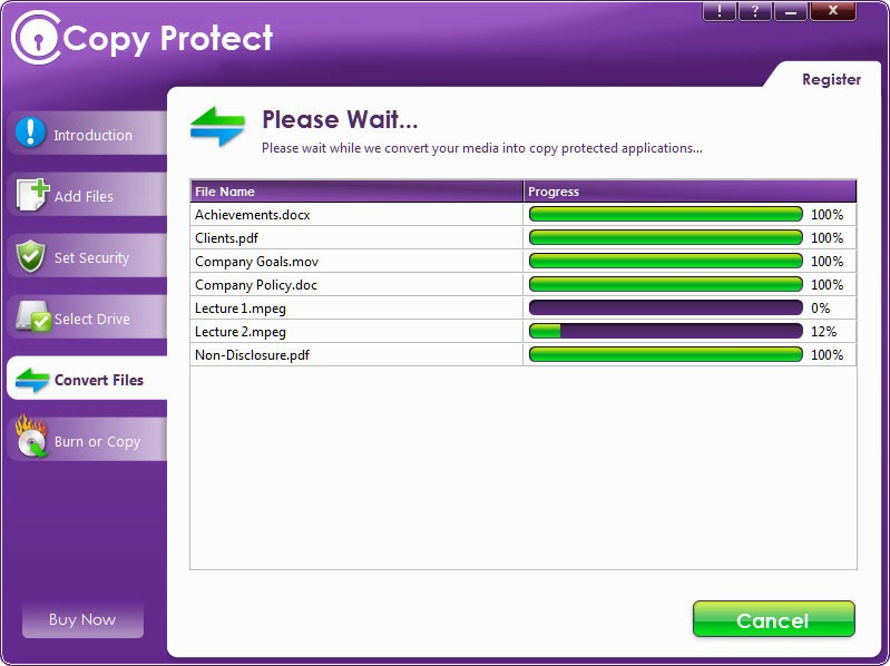 Newsoftwares Copy Protect 1.6 S2 s Newsoftwares Copy Protect 1.6