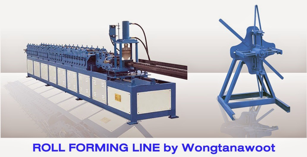 ROLL FORMING LINE by Wongtanawoot