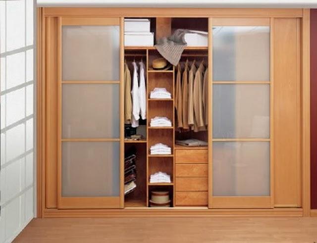 Armario empotrado con puertas correderas de madera de - Montaje armario empotrado ...