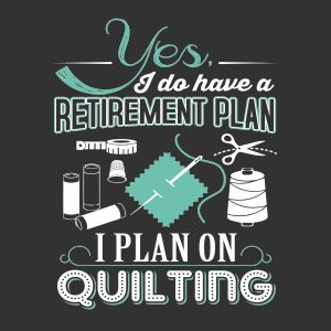 Yes, I retired!