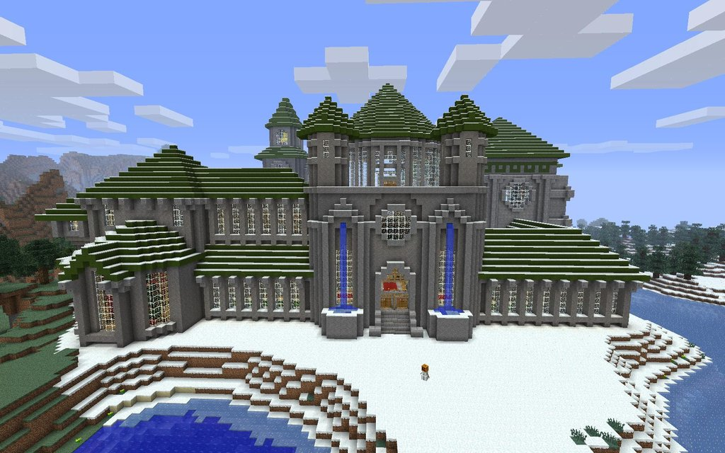 The Minecraft Castle: August 2012