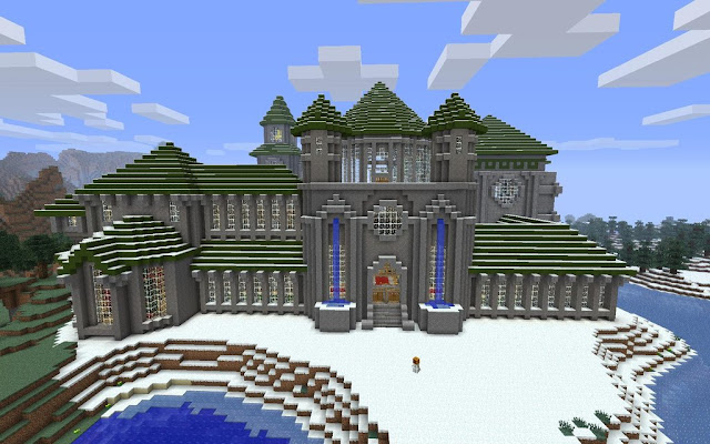 Magnificent Medieval Minecraft Castle