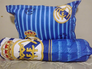 Sarung Bantal Guling Real Madrid