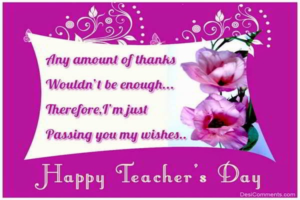 Teacher's Day 2014 Sms Messages Wishes Greetings In Hindi/English