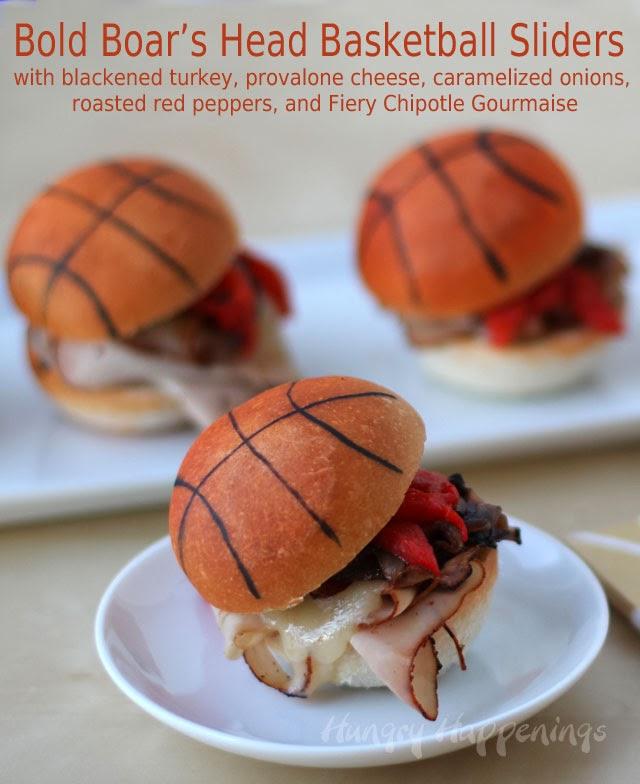 Boar's Head Basketball Sliders   HungryHappenings.com