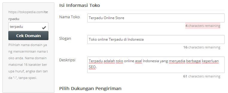 Membuka Toko di Tokopedia untuk Berjualan Online 2