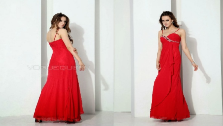 Formal Western Prom Gown