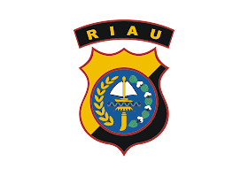 Polda Riau Logo Vector download free